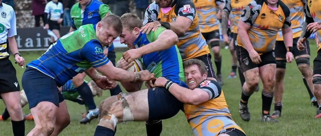 Boroughmuir Bears are on the hunt for a morale boosting victory against Ayrshire Bulls. Image: George McMillan
