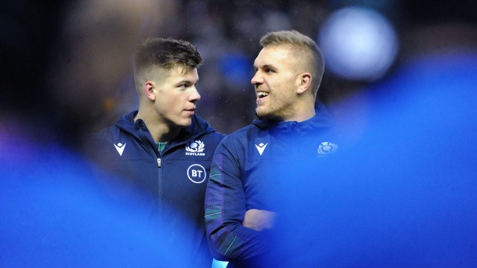 Chris Harris has replaced Huw Jones in the Scotland team to face Italy on Saturday. Image: FOTOSPORT/DAVID GIBSON