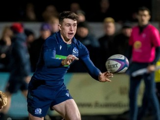 After two appearances off the bench so far in this Six Nations, Kyle McGhie of Boroughmuir Bears gets a start for Scotland Under-20s against Italy at scrum-half. Image: Craig Watson