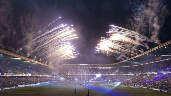 Scotland will play New Zealand in an evening game at Murrayfield, just as they did in 2017. Image: ©Craig Watson