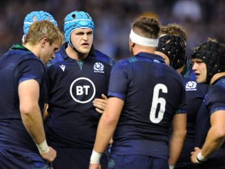 Scott Cummings is comfortable calling Scotland's line-outs. Image: Fotosport/David Gibson