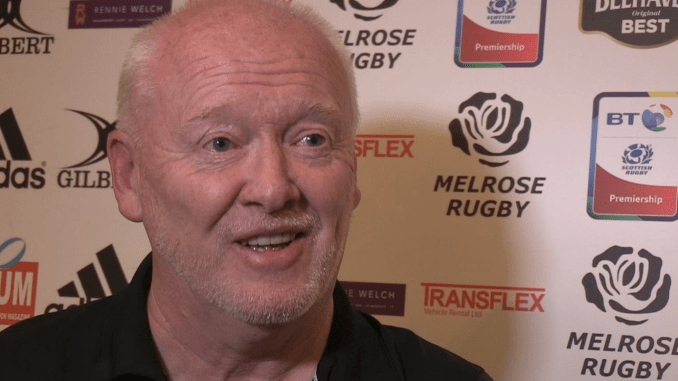 Mike Dalgetty is stepping down as Director of Rugby and a Board member at Melrose Rugby. Image: bordersrugby.net