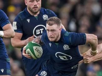 Stuart Hogg scored Scotland opening try. Image: © Craig Watson - www.craigwatson.co.uk