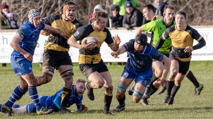 Fergus Scott led from the front once again for Currie Chieftains versus Jed-Forest.