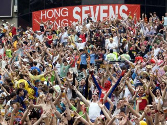 The Hong Kong Sevens has been moved from the start of April to 10-11 October due to the impact of the coronavirus. Image: Fotosport/Graham Uden