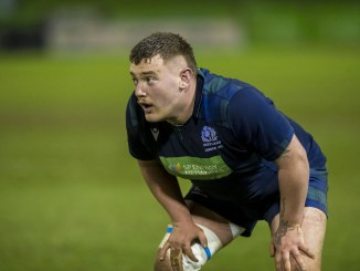 Mak Wilson in action for Scotland Under-20s' in their big win over Wales at the end of the Six Nations. Image: ©Craig Watson - www.craigwatson.co.uk
