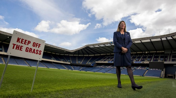 Dee Bradbury became the first female President of a Tier One Rugby Nation in 2018. Image: © Craig Watson - www.craigwatson.co.uk