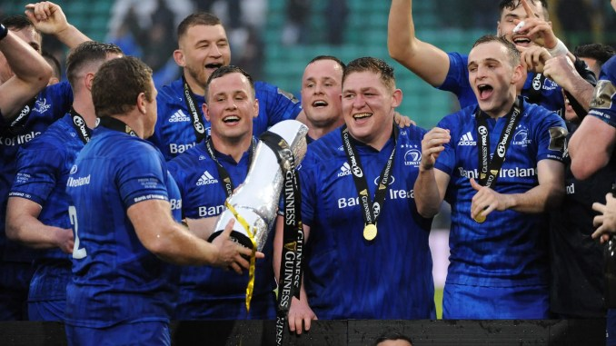 Leinster are the reigning PRO14 champions. Image: Fotosport/David Gibson