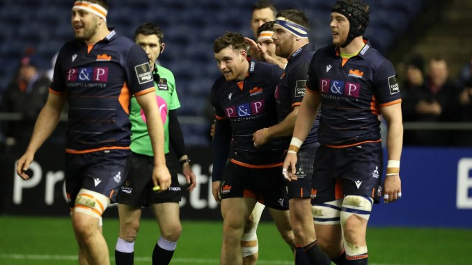 Edinburgh are headed to France for their Challenge Cup quarter-final clash against Bordeaux-Begles in mid-September. Image: David Gibson