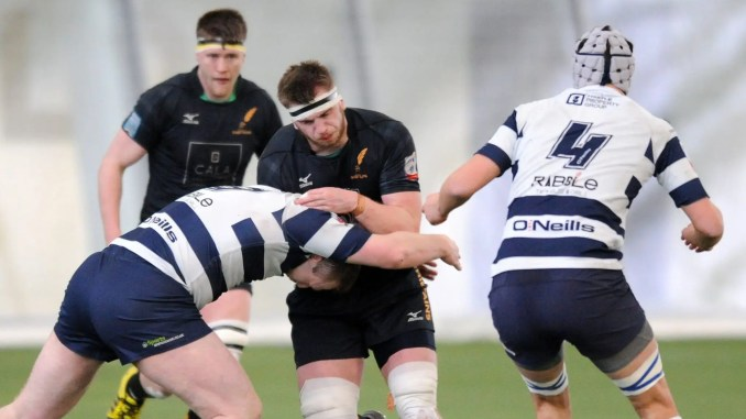 Hamish Bain in action for Currie Chieftains against Heriot's back in 2018. Image: ©Fotosport/David Gibson
