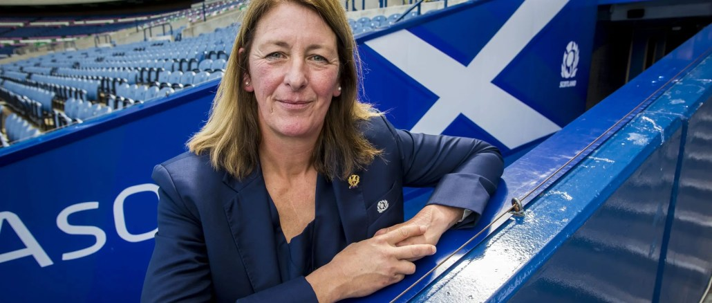 Dee Bradbury became the first female President of a Tier One nation in 2018. Image: © Craig Watson - www.craigwatson.co.uk