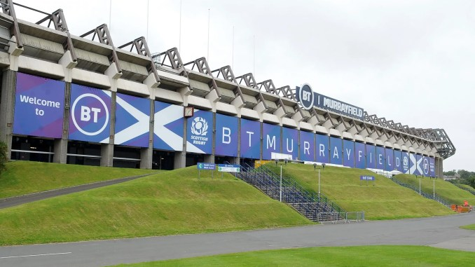 Murrayfield Stadium will be lying empty this weekend with the SRU AGM being held by video conference. image: FOTOSPORT/DAVID GIBSON