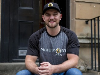 Former Glasgow Warriors No 8 contract Adam Ashe set up Pure Sport CBD with ex team-mate Grayson Hart two years ago. Image: © Craig Watson - www.craigwatson.co.uk