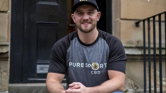 Former Glasgow Warriors No 8 contract Adam Ashe set up Pure Sport CBD with ex team-mate Grayson Hart two years ago. Image: © Craig Watson - www.craigwatson.co.uk