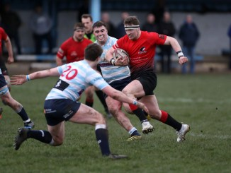 Edinburgh Accies and Glasgow Hawks will meet in stage two of this season's one-off season structure. Image: FOTOSPORT/DAVID GIBSON