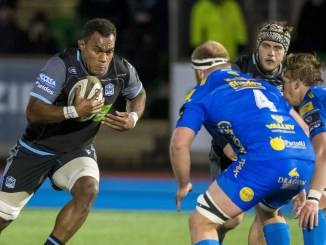 Leone Nakarawa in action for Glasgow Warriors versus the Dragons last season. Image: © Craig Watson - www.craigwatson.co.uk