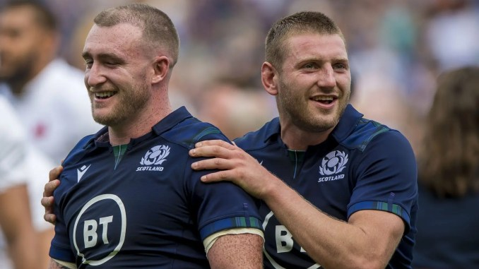 Stuart Hogg and Finn Russell in the same team can only be a good thing for Scotland's chances. Image: © Craig Watson - www.craigwatson.co.uk