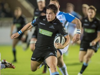 Sam Johnson will play his first game for almost eight months when Glasgow Warriors take on Ospreys. Image: © Craig Watson - www.craigwatson.co.uk