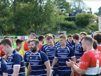 Glasgow Hawks clap Musselburgh off the field after the cup tie at the start of last season. Image: Anna Burns