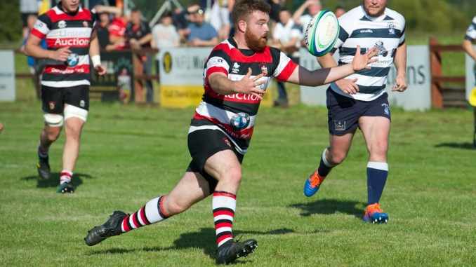 Stirling Wolves in action against Heriot's Blues lat season. Image: Bryan Robertson