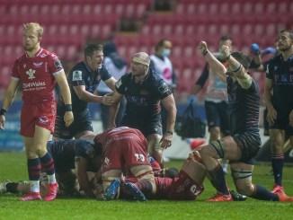 Edinburgh picked up their first win of the season at Scarlets. Image: © Craig Watson - www.craigwatson.co.uk