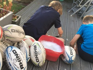 Billy and Tam are key members of Rugby Recycled's workforce