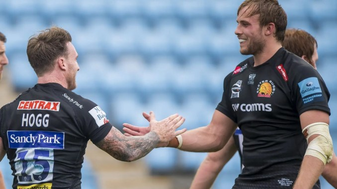 Stuart Hogg and Jonny Gray both got over for tries against their old club. Image: © Craig Watson - www.craigwatson.co.uk