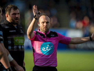 Mike Adamson is set to become the first Scot to referee a men's Six Nations match in 19 years. Image: ©Craig Watson