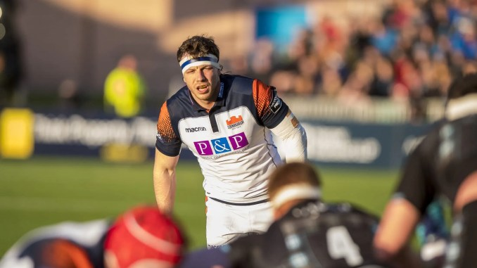 Hamish Watson has signed a long-term contract extension with Edinburgh. Image: ©Craig Watson