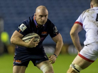 Dave Cherry in action for Edinburgh. Image: © Craig Watson - www.craigwatson.co.uk