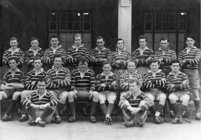 Musselburgh RFC in 1956-57