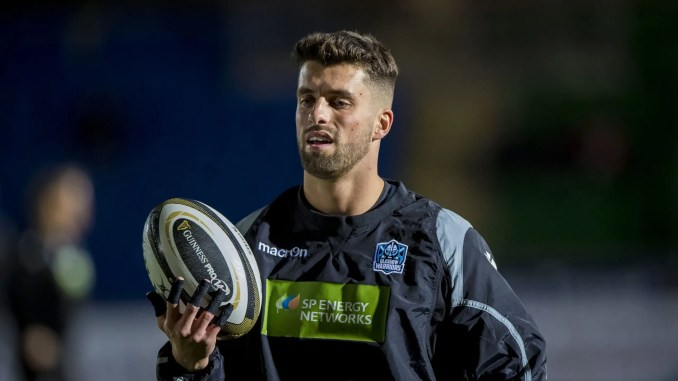Adam Hastings has been banned for three matches after picking up a red card whilst playing for Glasgow Warriors against Leinster on Sunday night. Image: ©Craig Watson