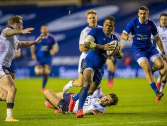 Virimi Vakatawa will be a major threat for France versus Scotland tonight. Image: © Craig Watson - www.craigwatson.co.uk