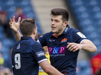 Blair Kinghorn (right) will link up at half-back with Henry Pyrgos (left). Image: © Craig Watson - www.craigwatson.co.uk
