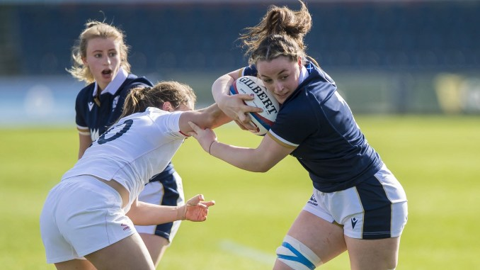 Evie Gallagher replaces injured captain Rachel Malcolm at blindside flanker. Image: © Craig Watson - www.craigwatson.co.uk