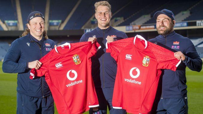 Edinburgh's three Lions - Hamish Watson, Duhan van der Merwe and Rory Sutherland - will all start Saturday's match at Murrayfield. Image: © Craig Watson - www.craigwatson.co.uk