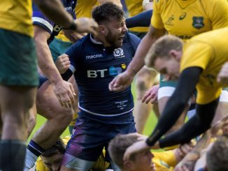 Scotland's Autumn matches, including their clash with Australia, will be shown exclusively on Amazon. Image: © Craig Watson - www.craigwatson.co.uk