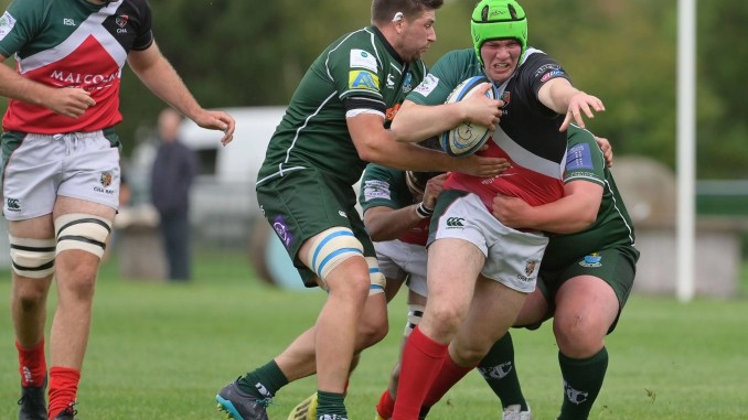GHA got the better of Hawick in a thriller at Braidholm. Image: Colin Robinson
