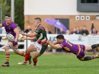 Marr went top of the Premiership table with their big win at GHA. Image : Colin Robinson