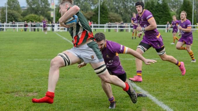 One booted Luke McCutcheon of GHA tries to evade Marr's Mackenzie Pearce. Image: Joyce Robinson