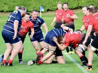 Glasgow Hawks host Musselburgh at Balgray. Image: Anna Burns