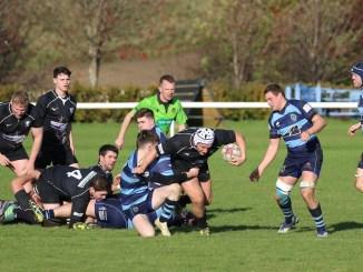 Strathmore (in black) have had their opening weekend game against Berwick postponed. Image: David Potter