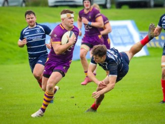 Man-of-the-Match Conor Bickerstaff of Marr on the ball. Image: Jon Pearce