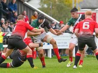 Glasgow Hawks came out on top of their dry match against GHA. Image: Colin Robinson