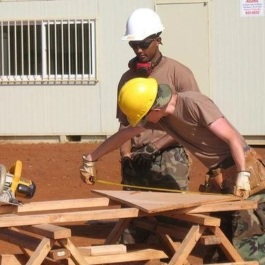 Nine years in the US Air Force Reserves as a structural civil engineer