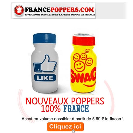 Poppers Rapide depuis la France