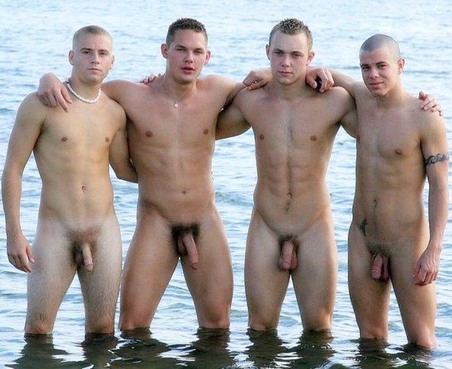 mecs bites à la plage