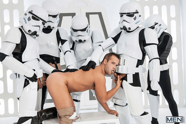 Star Wars Gay - Extrait gratuit Les StormTroopers niquent !