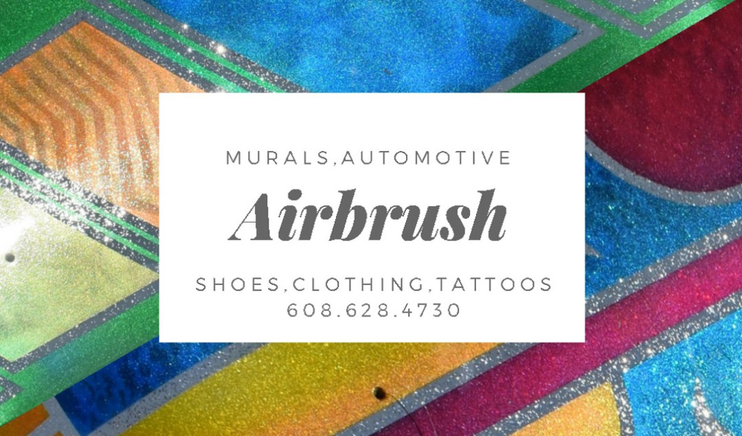 Airbrush Artist Business Card