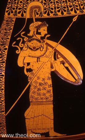 Athéna, déesse de la guerre et de la civilisation © Antikenmuseen de Berlin